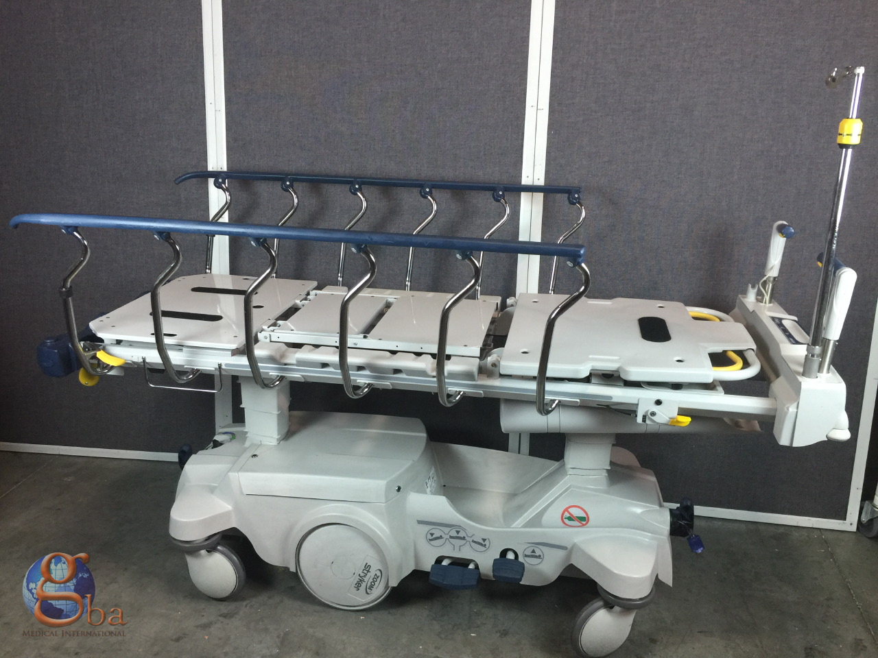 stryker big wheel stretcher manual