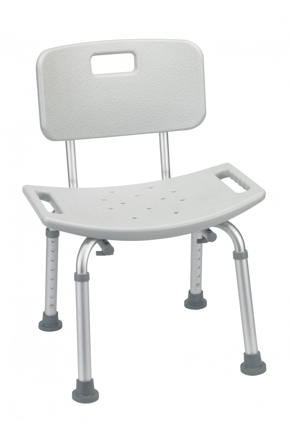 Grey Bathroom Safety Shower Tub Bench Chair With Back Gba Medical