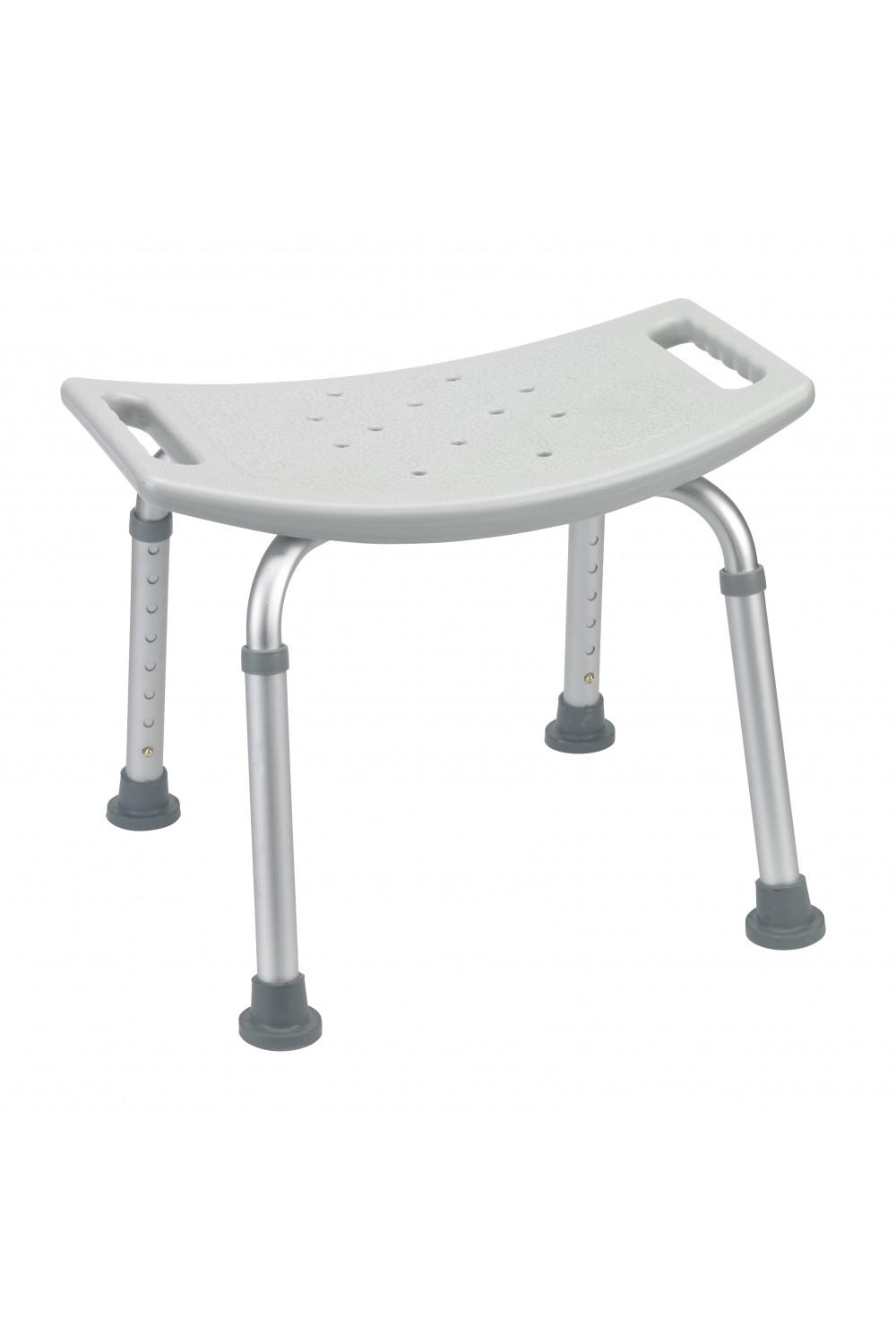 Grey bathroom safety shower tub bench chair gba medical for Drive medical bathroom safety shower tub chair