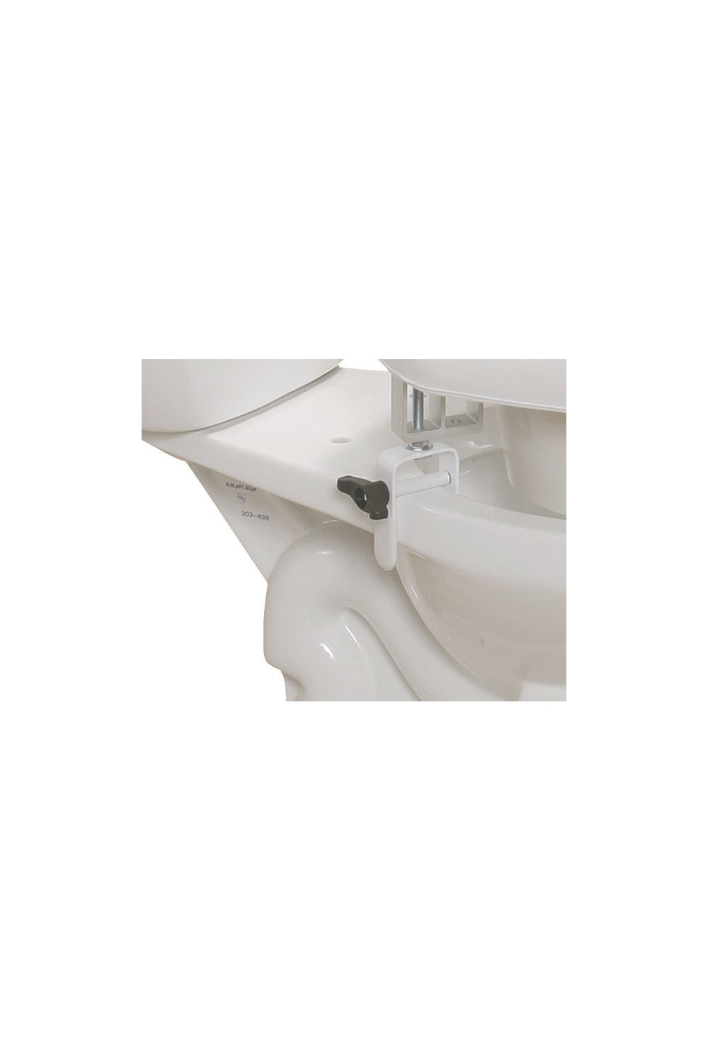 Padded Raised Toilet Seat Riser Gba Medical